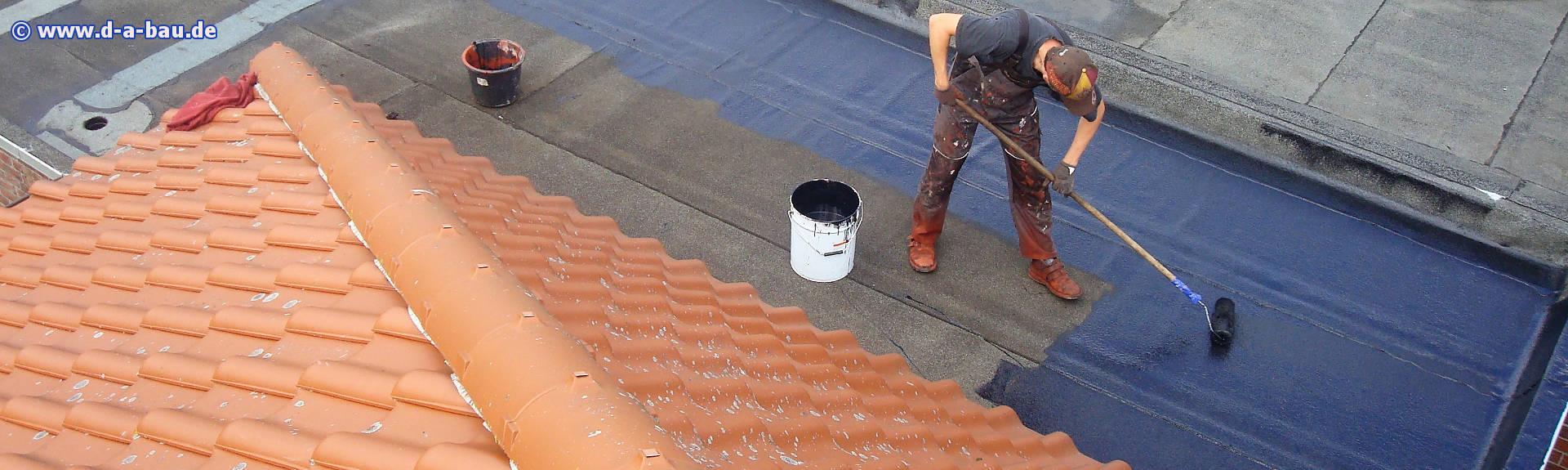 Flachdach beschichten, sanieren, wasserdicht und wetterfest ...